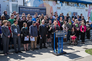 B.C. launches Skills for Jobs Blueprint to re-engineer education and training | by BC Gov Photos