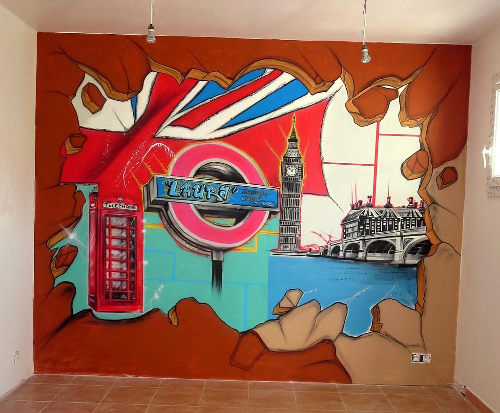 Deco Chambre Theme London Kowse Production Kowse Artist Flickr