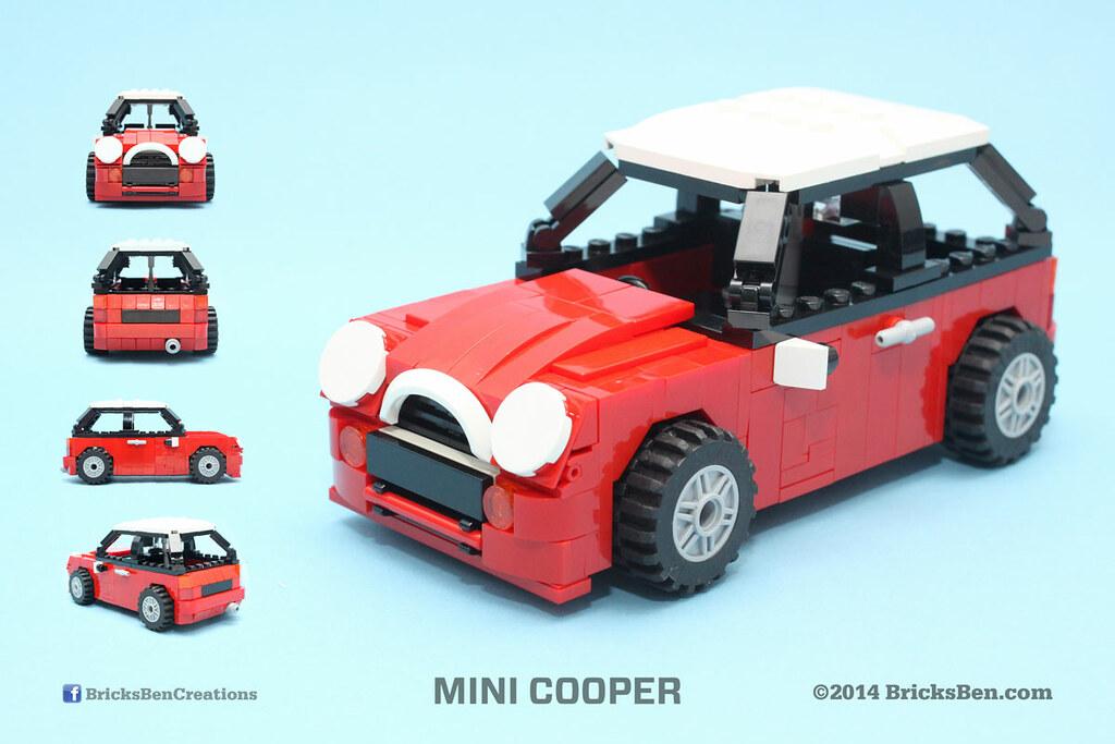 bricksben lego mini cooper multiple views who could. Black Bedroom Furniture Sets. Home Design Ideas