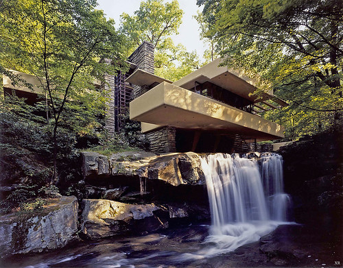 1935... 'Falling Water' - Frank Lloyd Wright | by x-ray delta one