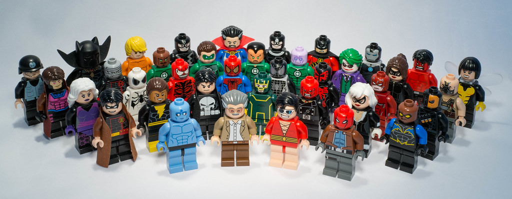 My Customs Lego Super Heroes Minifigures : All my lovely cus ...