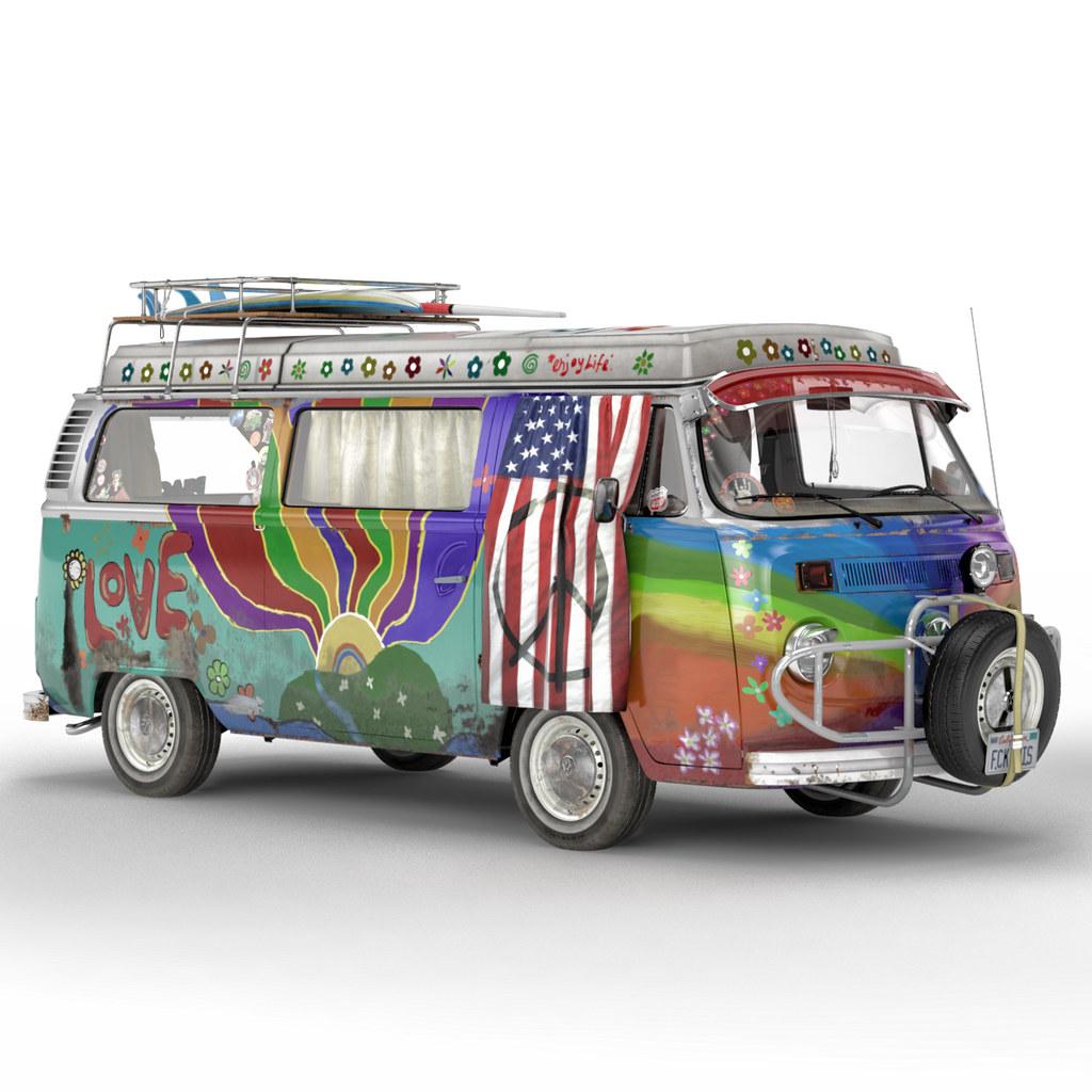 Volkswagen T2 Hippie Van Stiff Meister Flickr