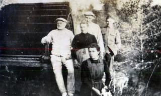 The miller & family & Barry