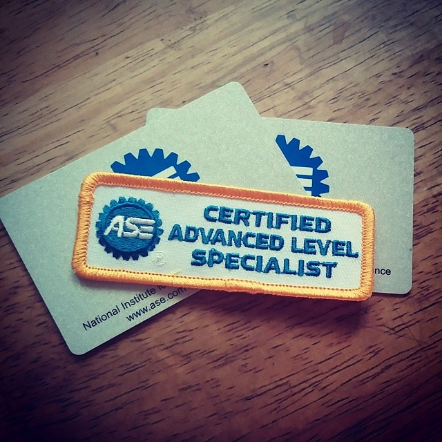 ase patch certified l1