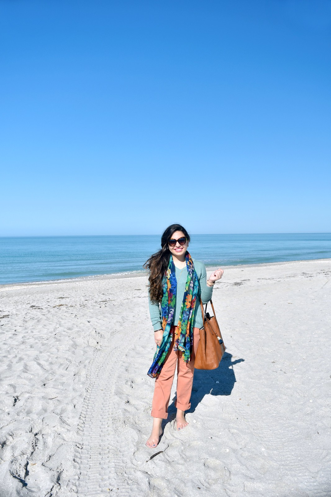 winter/spring beachy outfit