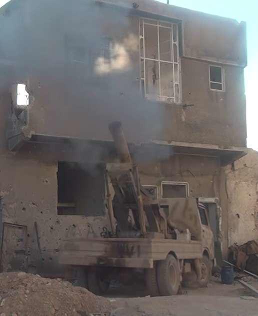 Syria-truck-cannon-faylaq-al-rahman-damascus-area-2016-tfb-3