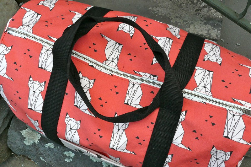 Sprout Patterns x Portside Duffel Bag | Ginger Makes