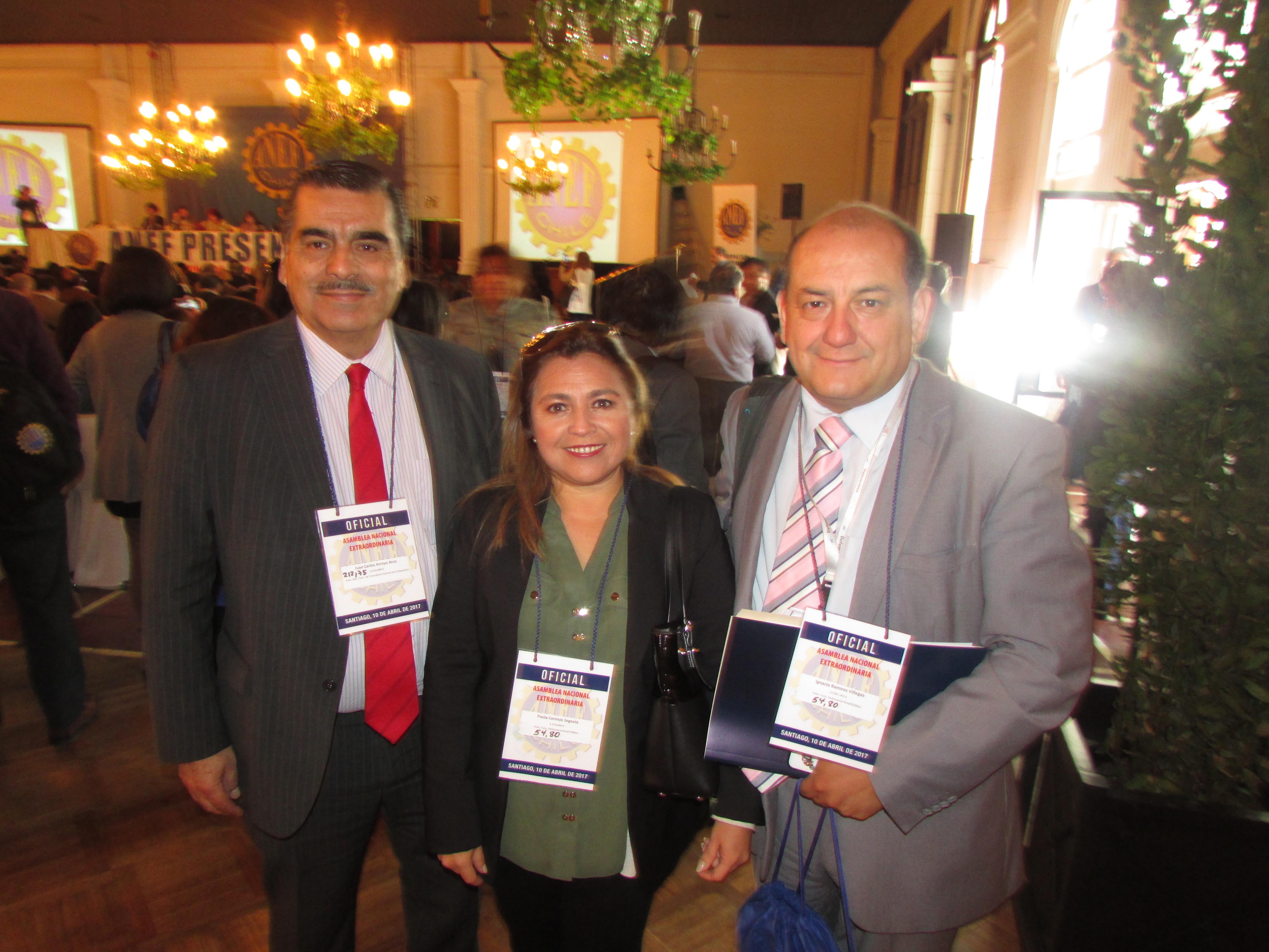 AFUDEP participan en Asamblea Nacional Extraordinaria ANEF - 10 Abril 2017