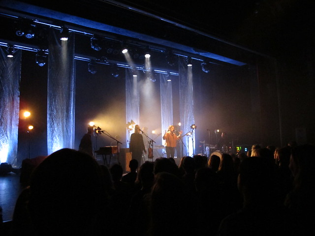 wednesday, concert with säkert! annika norlin, slagthuset, malmö