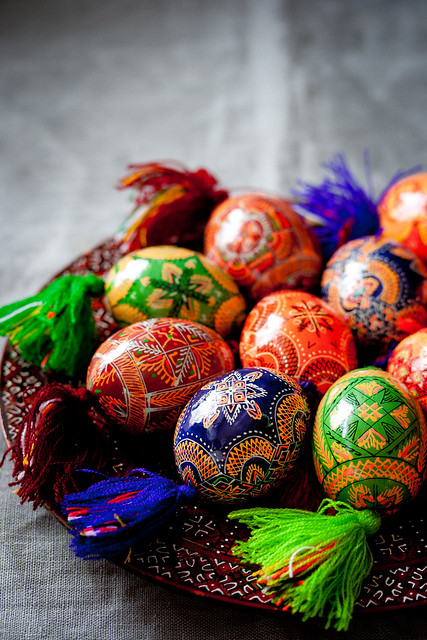 Happy Easter! (ukrainian pysanky)