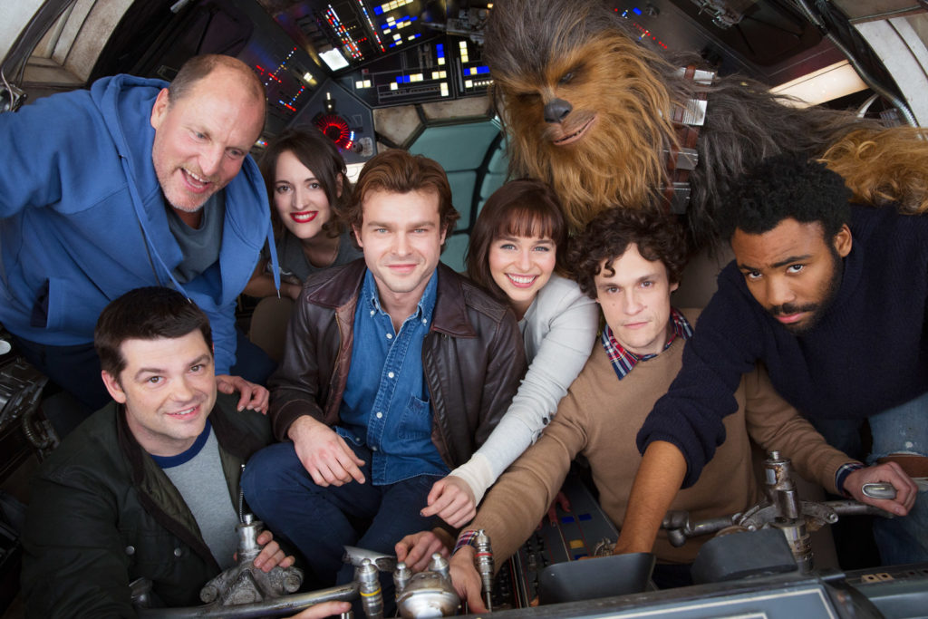 「The untitled Han Solo Star Wars Story」スタッフ、キャストの写真
