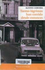 Alfons Cervera, Tantas lágrimas han corrido desde entonces