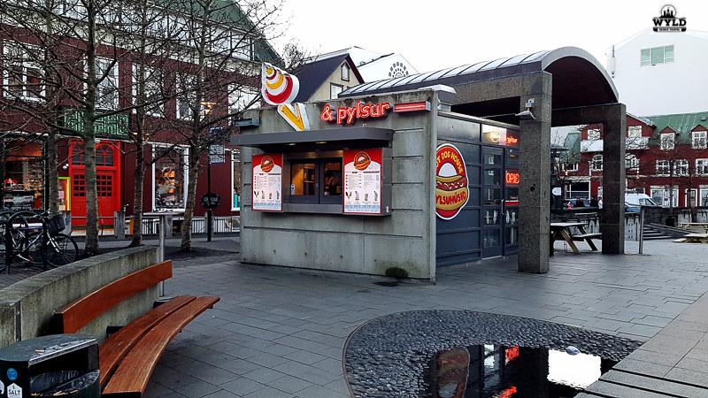 takeaway food in Reykjavik