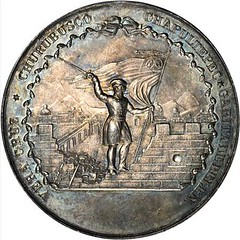 Charleston Company of Volunteers Medal reverse