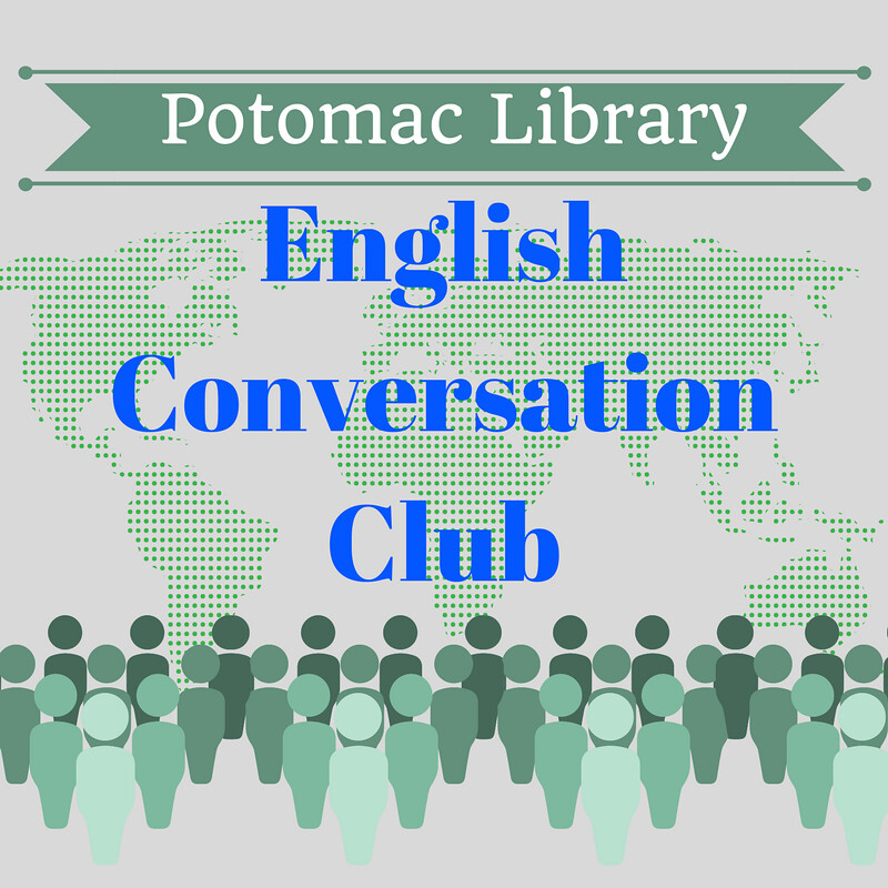potomac library english conversation club