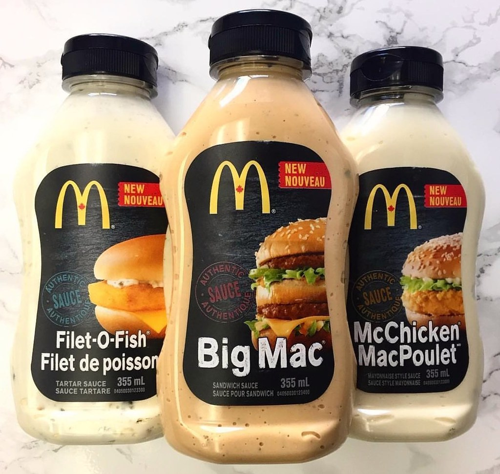 Mcdonald 39 s sauces coming to canadian grocery stores in the for Mcdonald s filet o fish price