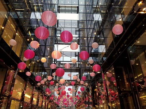 City Center Cherry Blossom Season Lanterns