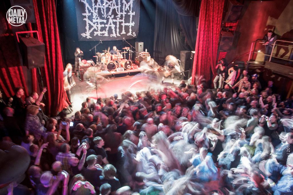 Napalm Death | 10.04 | MonteRay Live Stage
