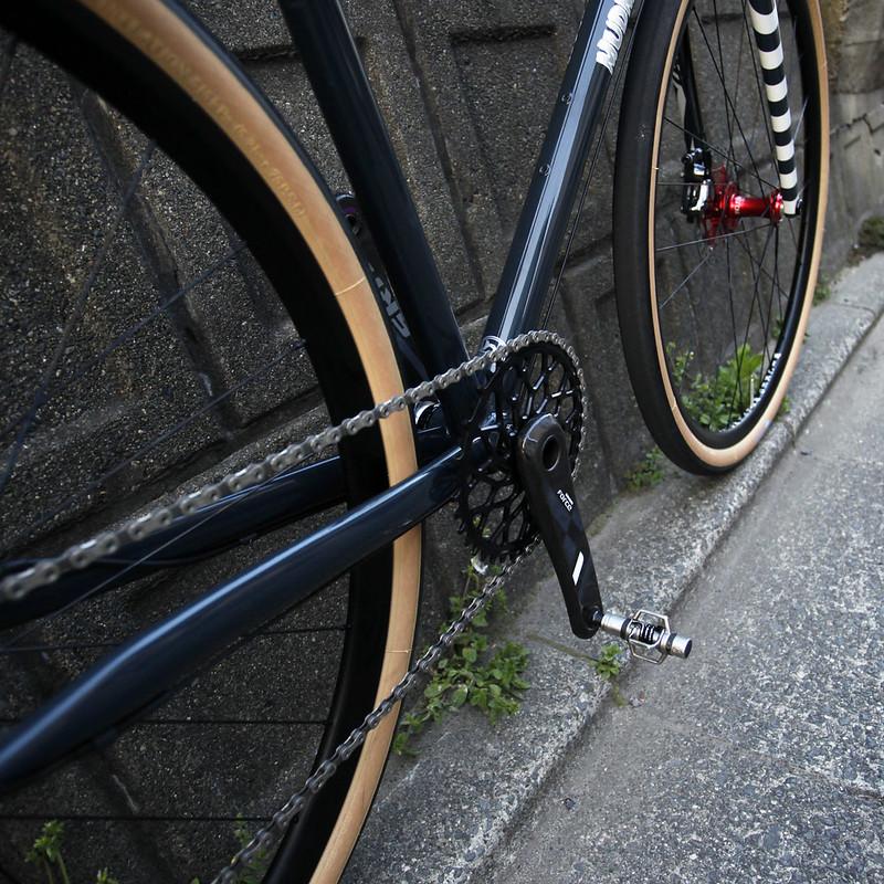 Hand made in Kanagawa Japan Steel Era Mudman Frame.