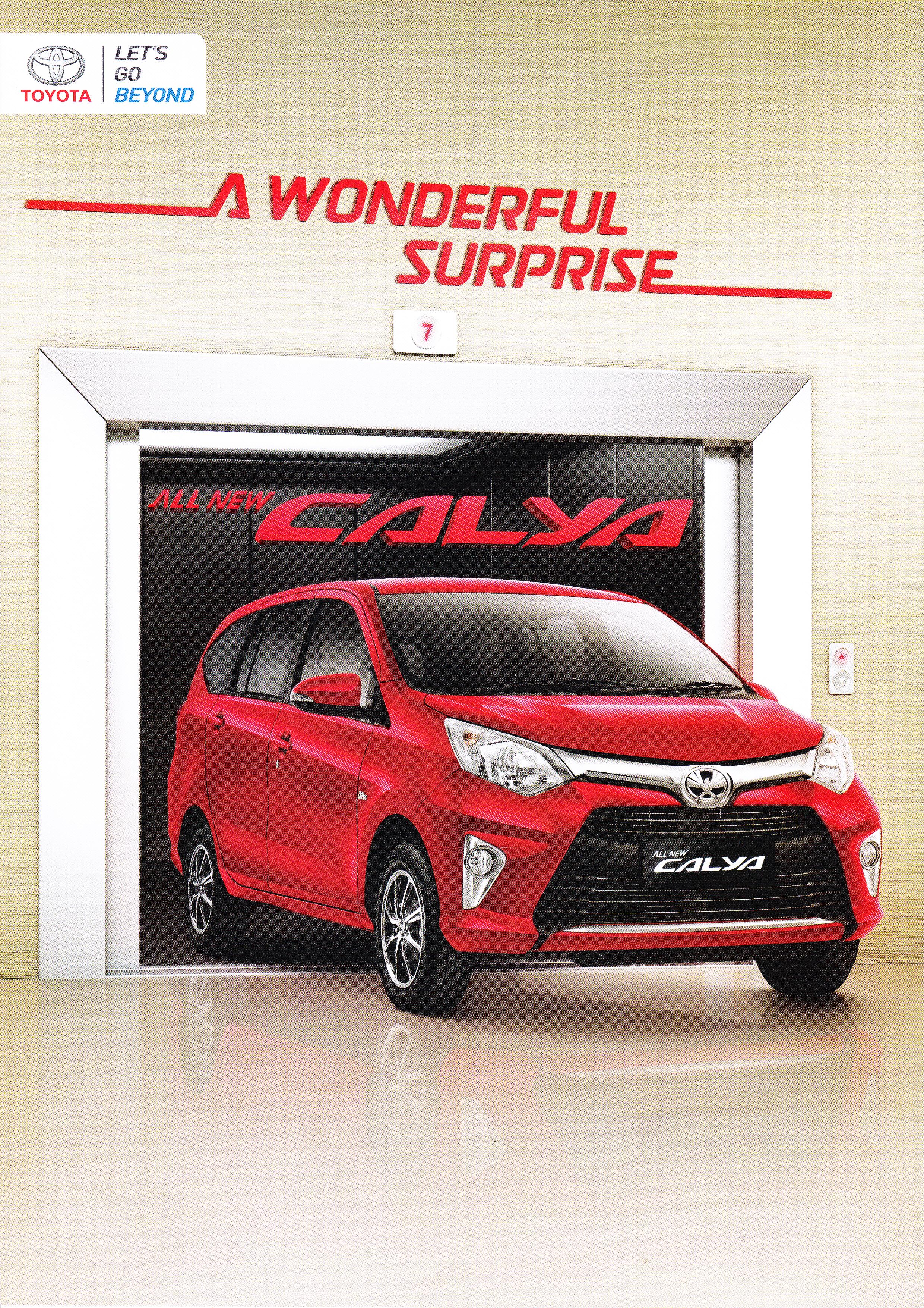 Brosur Mobil Toyota Calya Jakarta