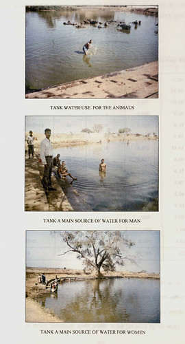 तालाब जल का उपयोग