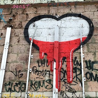 Symbol der letzten Tage. #heartbleed | by snoopsmaus