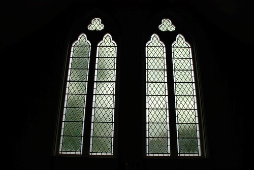 Windows at Waihi School church, Winchester. | by lancef2