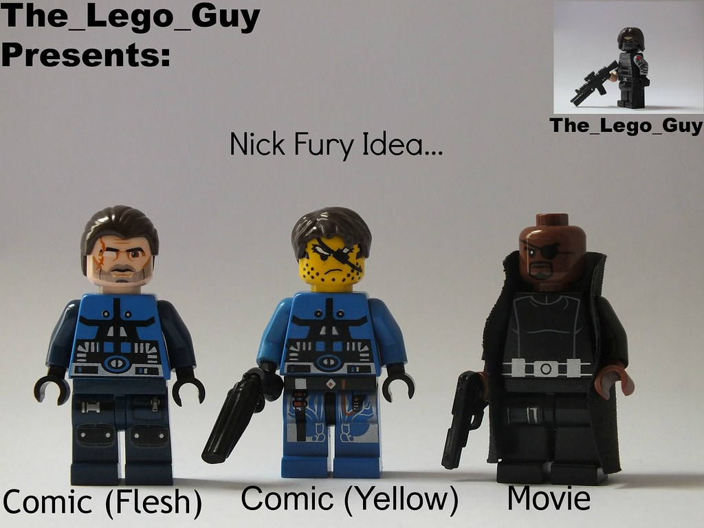 Marvel: Nick Fury Idea(s)... | Just a couple of ideas I ...