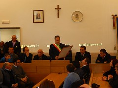 cittacaggiano dinanza onoraria Maestro Antonio Imparato