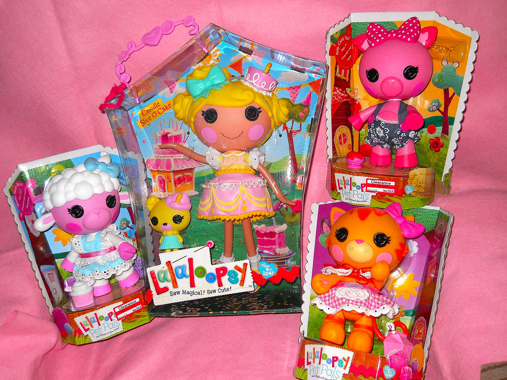 Lalaloopsy Candle Slice O Cake And Pet Pals Thanks To