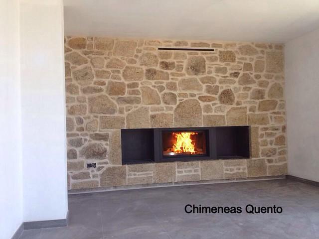 Chimenea quento modelo idea con ll calor 2080 flickr photo sharing - Chimeneas lugo ...