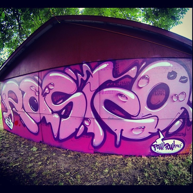 Rasko goes pop) at #rf14 #rasko #graffiti #pop #popart #ar… | Flickr