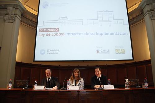 Expertos analizaron los impactos de la nueva ley de Lobby