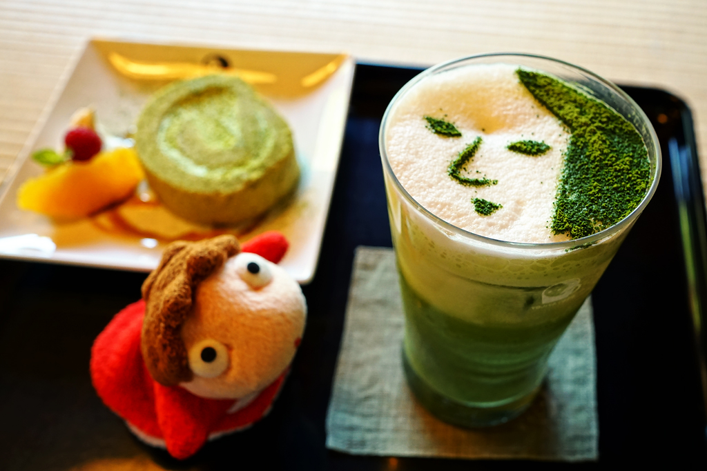 (Summer Version) Ponyo at Yojiya Cafe (よーじやカフェ) in Kyoto Japan