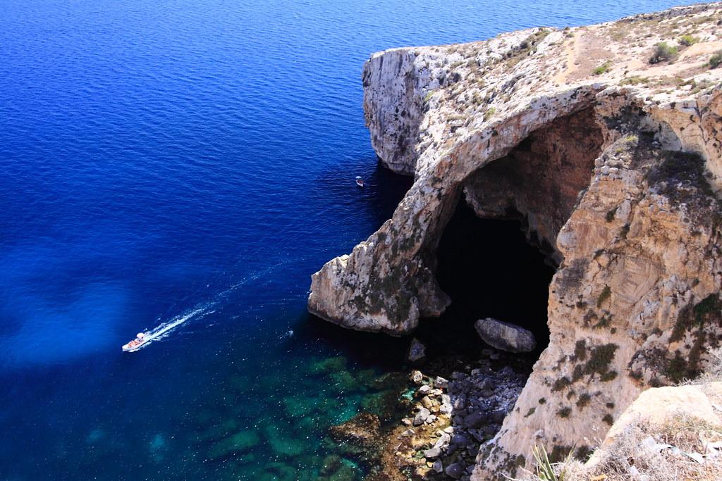 Malta Blue Grotto的圖片搜尋結果