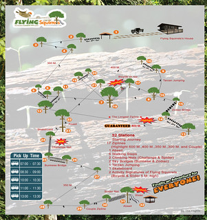 Brochure Flying Squirrels Zipline Chiang Mai Thailand 02