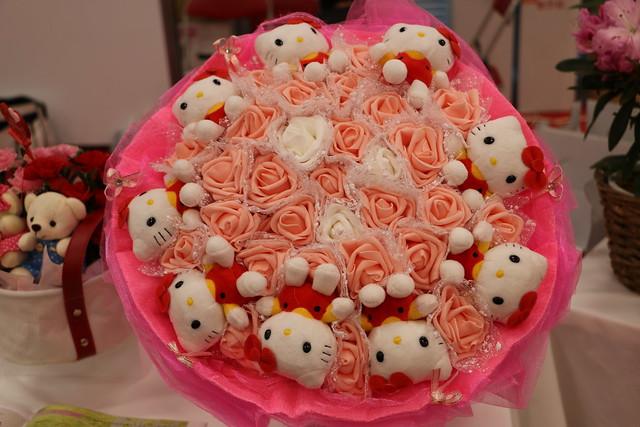 母の日プレゼント キティちゃん花束