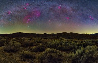 Winter Milky Way Over Los Padres National Forest | by TransientAstronomer