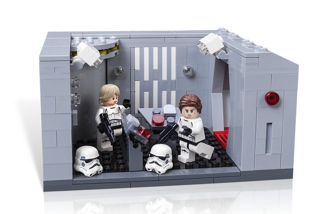 Star Wars Celebration 2017 LEGO Detention Block Rescue
