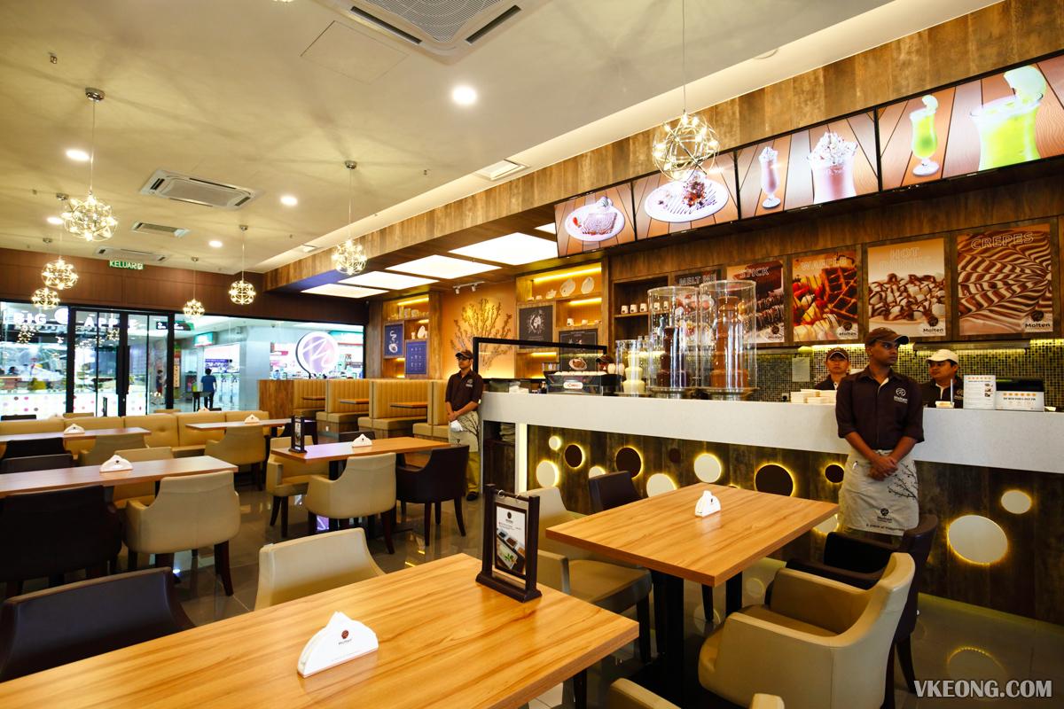 Molten Chocolate Cafe Dataran Pahlawan Melaka