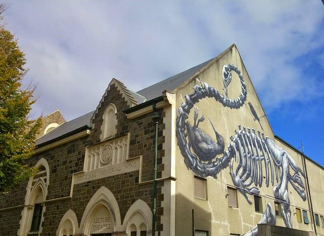Christchurch contrasts