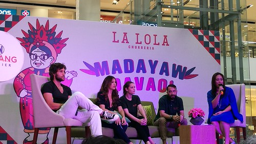 DavaoFoodTripS.com | Maria Perine, Solenn Heussaff & Nico Bolzico store owners -  Hola Amigos & Amigas... La Lola Churreria Opens at SM Lanang Premier!