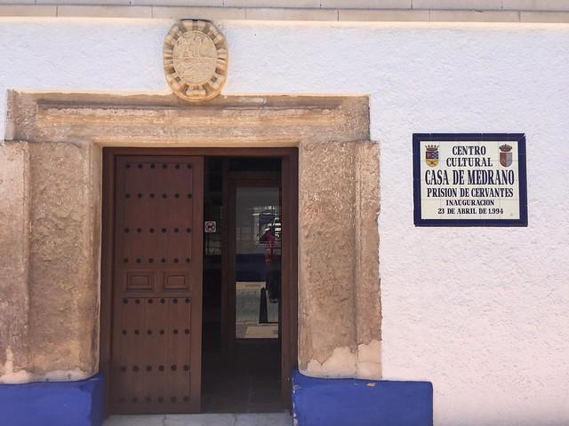 Casa de Medrano, prisión de Cervantes en Argamasilla de Alba