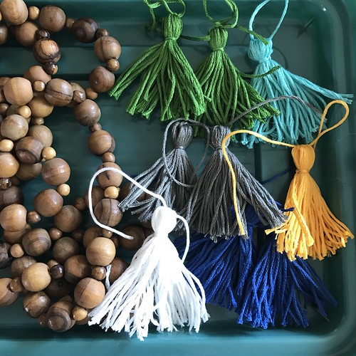 Beaded Strand and Tassels