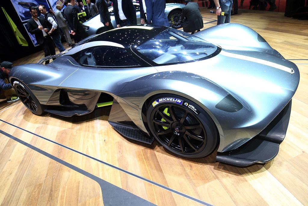 Aston Martin Valkyrie live photos: 2017 Geneva Motor Show