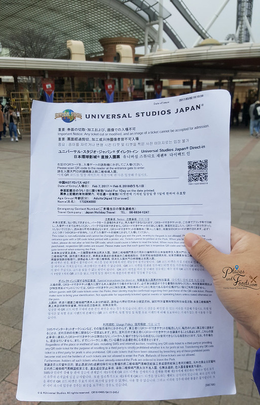 usj klook ticket