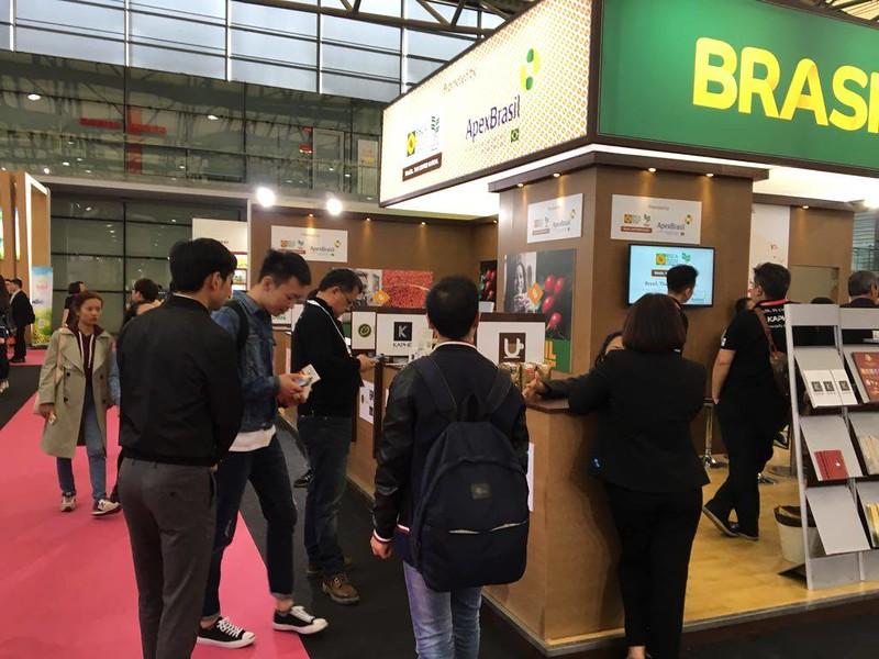 BSCA apresenta café brasileiro em feira de hotelaria na China