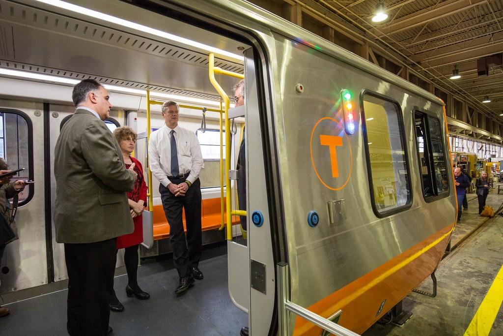 Mbta Orange Line Mock Up 03 21 17 Governor Charlie Baker