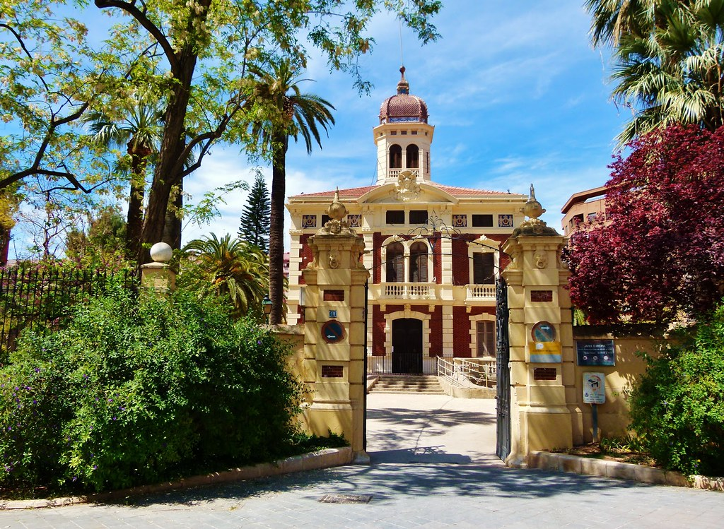 Jard n hist rico y palacete de ayora valencia palacio for Jardin de ayora