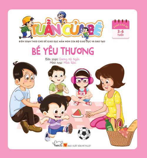 'Tuần của bé': Bộ sách tổng hợp đầu tiên cho bé 3-6 tuổi